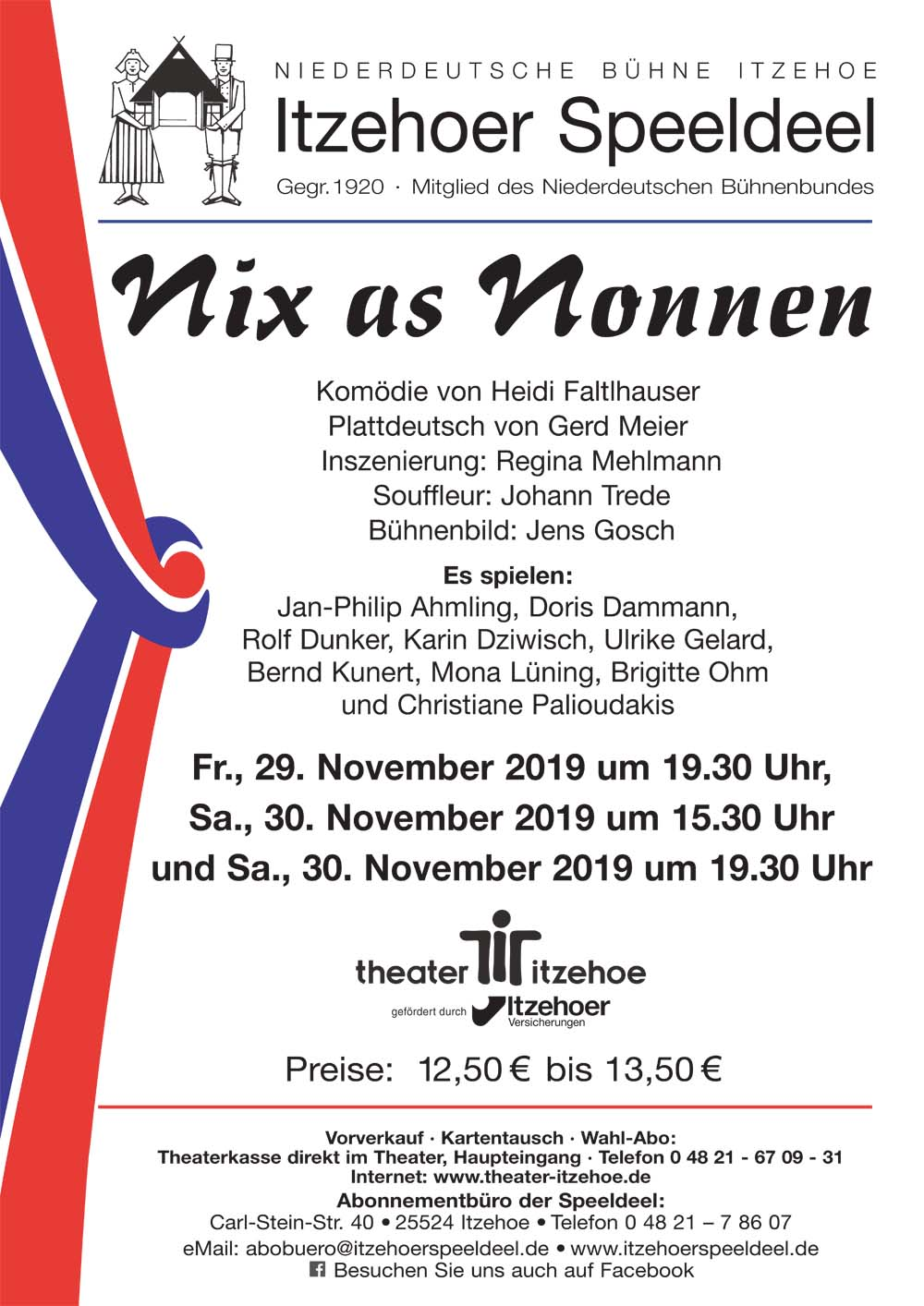 2019nix as nonnen plakatgross